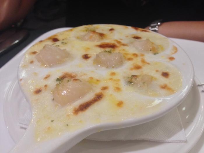 乳酪焗奶油黃金貝