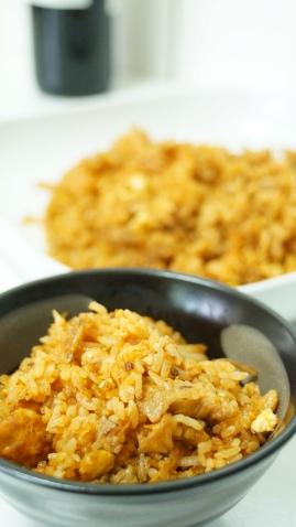 韓國泡菜豬肉炒飯