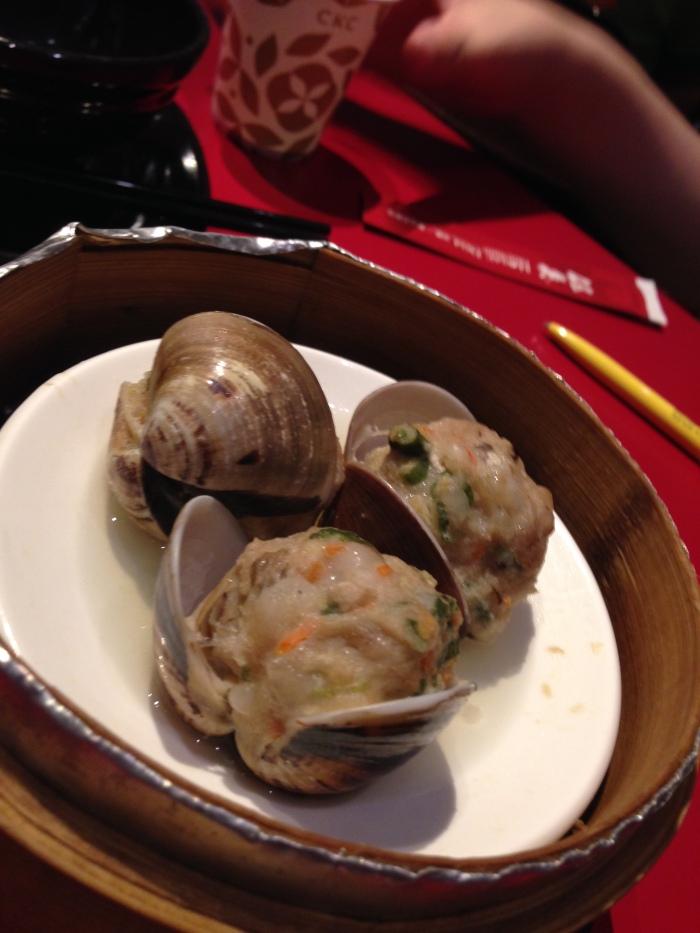 紅點蛤蜊蒸燒賣