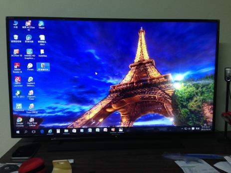 電腦模式下的螢幕!