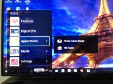 Favorite可設定喜歡台數,Digital EPG這兩個都用不到!進入Applications裡的選項
