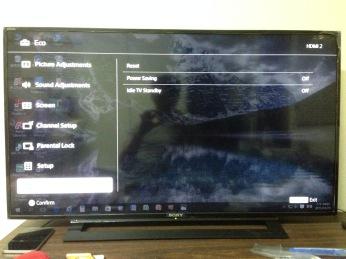 其實前幾張設定面都是半透明的,可以隱約看到電腦桌面喔!