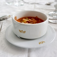 義大利培根蕃茄湯