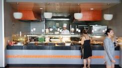 美式主食區:漢堡肉之類的
