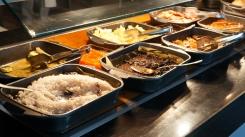 哥國在地主食區:黑豆飯