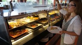 沙拉、前菜區