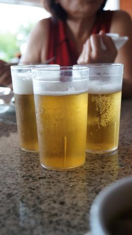 這次的第一餐就用啤酒來開始!
