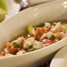 魚肉口味的Ceviche