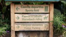 可以騎馬,登山步道,等等