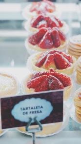 草莓塔特寫